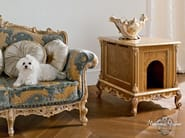 Doghouse in briar root hardwood pet living - Casanova Collection - Modenese Gastone