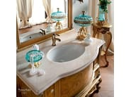 Washbasin marble top Luxury classical Italian furniture - Casanova Collection - Modenese Gastone