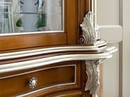 Glass cabinet with handmade inlays and carves - Bella Vita Collection - Modenese Gastone