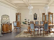 Luxury classic interiors dining room and dining set - Bella Vita Collection - Modenese Gastone