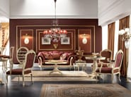 Living room with upholstered sofa bar and bottle rack - Bella Vita Collection - Modenese Gastone