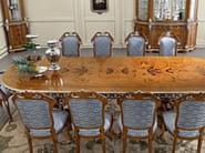 Inlaid fixed table luxury classic dining set - Bella Vita Collection - Modenese Gastone