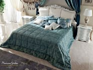 Queen size bed luxury Italian furniture - Bella Vita Collection - Modenese Gastone