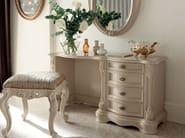 Hardwood toilette and pouf Italian luxury furniture - Bella Vita Collection - Modenese Gastone