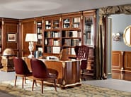 Chesterfield office hardwood luxury interior design - Bella Vita Collection - Modenese Gastone