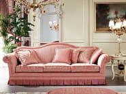 Padded sofa and pouf Italian fabrics - Bella Vita Collection - Modenese Gastone
