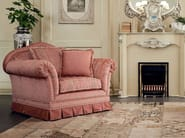Classic boiserie fireplace and soft armchairs - Bella Vita Collection - Modenese Gastone