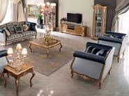Solid wood luxury Venetian living room furniture - Bella Vita Collection - Modenese Gastone