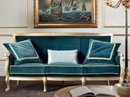 Luxury padded velvet sofa classic furniture - Bella Vita Collection - Modenese Gastone