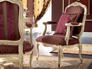 Coffee or tea table with padded chair with armrests - Bella Vita Collection - Modenese Gastone