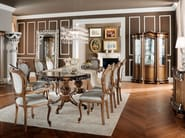 Italian luxury hardwood dining room - Bella Vita Collection - Modenese Gastone