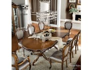 Luxury classical dining hardwood chair - Bella Vita collection Modenese Gastone