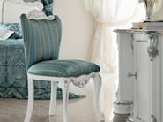 Hardwood chair soft fabric embroidered by hand - Bella Vita Collection - Modenese Gastone