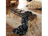 Luxury bedroom furniture padded bench capitonne - Bella Vita Collection - Modenese Gastone