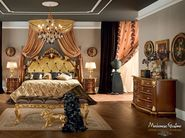 Imperial bedroom with upholstered and padded queen-size bed - Bella Vita Collection - Modenese Gastone