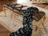 Luxury bedroom furniture padded bench capitonne - Bella Vita Collection - Modenese Gastone
