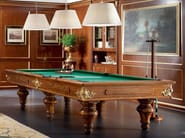 Rectangular wooden pool table 13601   Pool table - Modenese Gastone group