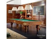 Luxury classic billiard table handmade and carved - Bella Vita Collection - Modenese Gastone