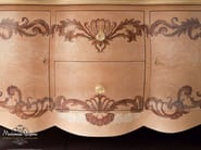 Radica briar root dresser inlaid detail handmade in Italy - Bella Vita Collection - Modenese Gastone