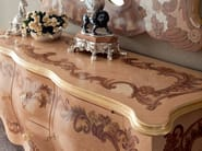 Radica briar root dresser inlaid surface handmade in Italy - Bella Vita Collection - Modenese Gastone