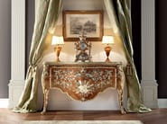 Classical painted masterpiece luxury hanmade console - Bella Vita Collection - Modenese Gastone