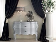 Ivory sideboard with crystal handle Italian classic furniture - Bella Vita Collection - Modenese Gastone