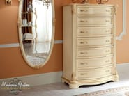 Luxury dresser with gold leaf applications - Bella Vita Collection - Modenese Gastone