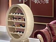 Hardwood luxury Italian interiors bottle rack - Bella Vita Collection - Modenese Gastone