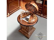Globe bar with hardwood stand - Bella Vita Collection - Modenese Gastone