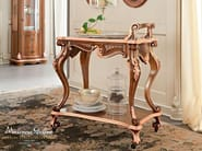 Carved tea cart classical luxury furniture - Bella Vita Collection - Modenese Gastone