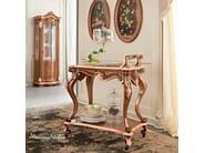 Carved tea cart classical luxury furniture - Bella Vita Collection - Modenese Gastone