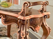 Carved tea cart detail classic luxury furniture - Bella Vita Collection - Modenese Gastone
