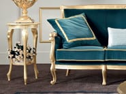 Gold leaf living room with vase stand - Bella Vita Collection - Modenese Gastone