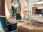 Luxury interior design carved gold leaf applications - Bella Vita Collection - Modenese Gastone