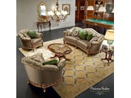 Sofa armchair home living billiard room luxury furniture - Bella Vita Collection - Modenese Gastone