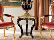 Luxury classic Venetian upholstered embroidered chair and coffee table - Bella Vita Collection - Modenese Gastone
