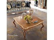 Figured carved hardwood tea table classic furniture - Bella Vita Collection - Modenese Gastone