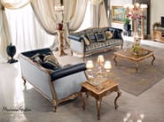Solid wood luxury Venetian living room furniture - Bella Vita Collection - Modenese Gastone