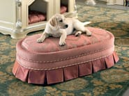 Luxury upholstered pet pouf soft fabrics kennel - Bella Vita Collection - Modenese Gastone