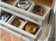 High end furniture walk in closet detail - Bella Vita Collection - Modenese Gastone