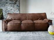 Leather sofa 1700 JELLY | Leather sofa - Vibieffe