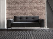 Tufted upholstered 2 seater fabric sofa VILLE | 2 seater sofa - SITS