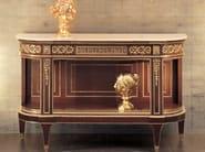Demilune wooden console table 286 | Console table - Rozzoni Mobili d'Arte