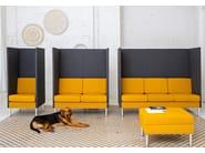 High-back fabric sofa MANHATTAN HIGHBACK | Sofa - SMV Sitz- und Objektmöbel