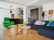 3 seater fabric sofa DUO | 3 seater sofa - SANCAL