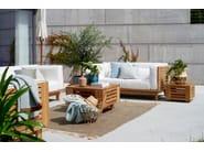 3 seater Sunbrella® garden sofa SKANÖR | 3 seater sofa - Skargaarden