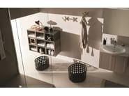 Single vanity unit with doors 34 - RAB Arredobagno