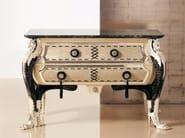 Leather dresser 358PB | Dresser - Rozzoni Mobili d'Arte
