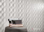 Rivestimento tridimensionale in ceramica a pasta bianca 3D WALL DESIGN KITE - Atlas Concorde