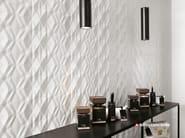 White-paste 3D Wall Cladding 3D WALL DESIGN KITE - Atlas Concorde